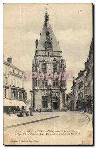 Postcard Dreux Old City Hotel built in 1512 in 1527 by Pierre Desmoulins and ...