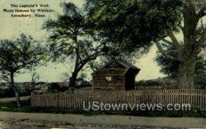The Captain's Well - Amesbury, Massachusetts MA
