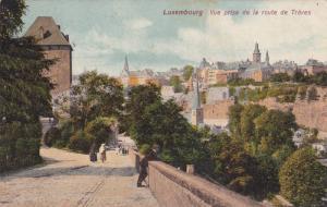 Vue Prise De La Route De Treves, Luxembourg, 1900-1910s
