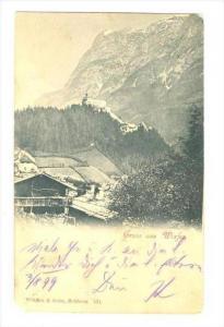Gruss aus Werfen , Austria, PU-1899