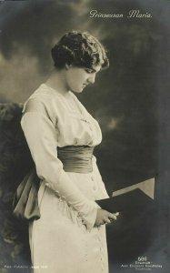 Grand Duchess Maria Pavlovna of Russia, Duchess of Södermanland (1912) RPPC