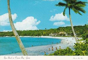 Guam Ipao Beach On Tumon Bay