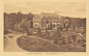 Washington DC Marist Seminary Albertype