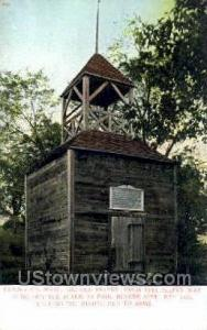 The Old Belfry Lexington MA Unused