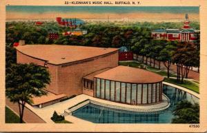 New York Buffalo Kleinhan's Music Hall 1942