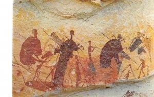 B109440 Lesotho Original Rushmen Rock Paintings Drakensberg National Park Hotel