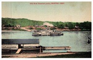 Ohio   Ironton , Ohio River Steamboat