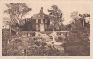 York Hall, Former Home Of Gov. Thos. Nelson, YORKTOWN, Virginia, 1910-1920s