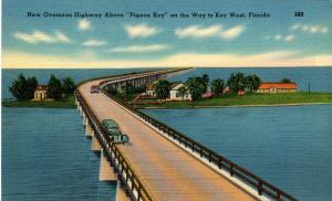 FL - Key West. Overseas Highway and Pigeon Key