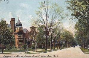 Michigan Kalamazoo South Street West From Park