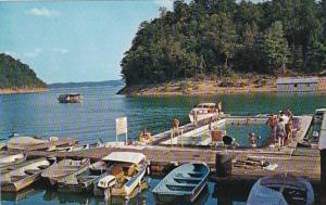 Kentucky Jamestown The Jamestown Dock Village On Lake Cumberland