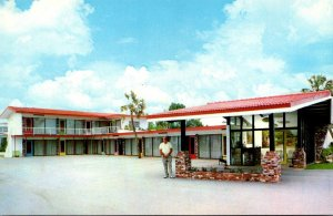 Florida Daytona Beach Valley Forge Motel South Atlantic Avenue