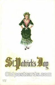 St. Saint Patrick's Day Postcard Postcards