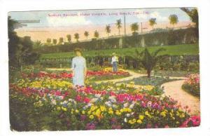 Sunken Gardens, Hotel Virginia, Long Beach, California, PU-1924