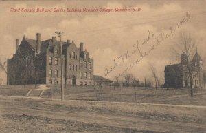 YANKTON , South Dakota , 1914; Ward Science Hall & Center Bldg., Yankton College