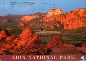 Utah Zion National Park Kolob Terrace 2001