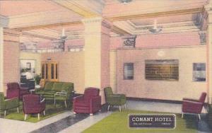 Nebraska Omaha Lobby Conant Hotel