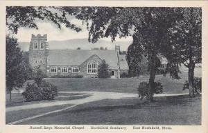 Massachusetts East Northfield Seminary Russell Sage Memorial Chapel Albertype