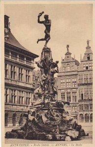 Belgium Anvers Fontaine de Brabo 1937