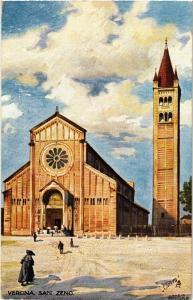 CPA VERONA San Zeno. . ITALY (448680)