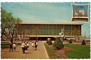 NY - New York World's Fair 1964-65. United States Pavilion