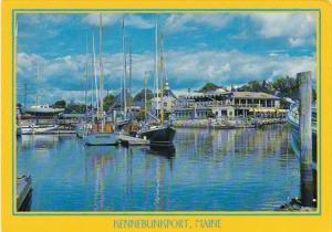 Maine Kennebunkport Harbor Scene