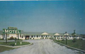 Boyd's Motel, Elkton, Maryland, 1940-1960s