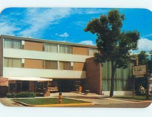 Unused Pre-1980 MAYFAIR HOTEL Colorado Springs Colorado CO Q5343