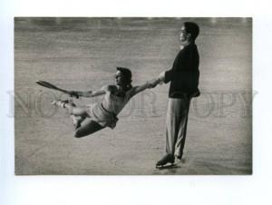 165503 ICE BALLET Moscow 1958 SCHILLING skating TENNIS photo