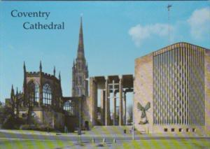 England Coventry The Cathedral Spire & East Side