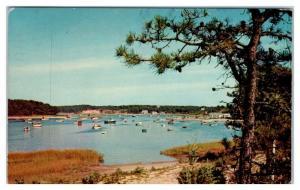 1967 Ryders Cove, Chatham Port, Cape Cod, MA Postcard
