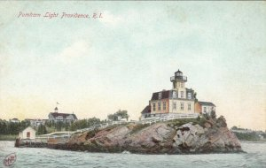 PROVIDENCE , R.I. , 1900-10s ; Pomham Lighthouse