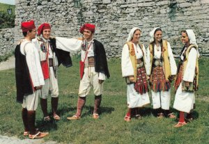 BOSNIA AND HERZEGOVINA, 1950-1960's; Folk Costumes From The Surroundings of B...
