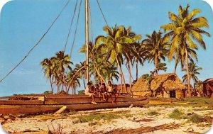 Fijian Koro, Villages Fiji Postal Used Unknown, Missing Stamp