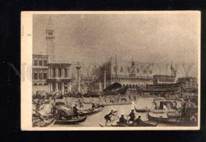 038538 ITALY VENEZIA Doge Departure by CANALETTO Old