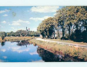 Pre-1980 TOWN VIEW SCENE Perth Ontario ON p9818