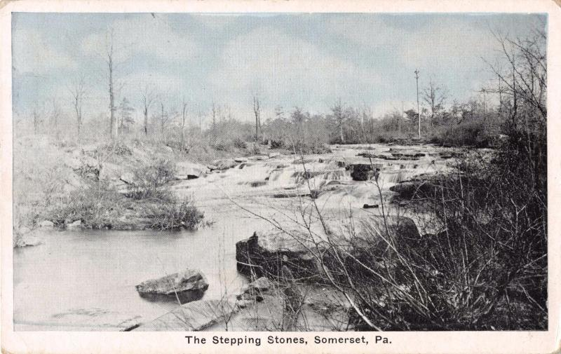 SOMERSET PENNSYLVANIA THE STEPPING STONES~AUBURN PUBLISHED
