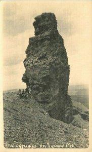 The Squaw Mountain  RPPC Photo Postcard 21-10623
