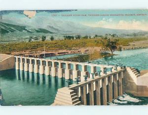 Edge Wear - TRUCKEE RIVER DAM AT PROJECT Near Reno & Carson City NV p1967
