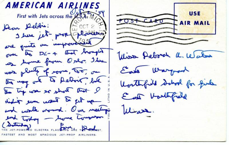 American Airlines (Airline Issued)