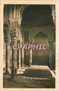 Old Postcard Marrakech Tombeux sultans Saadian