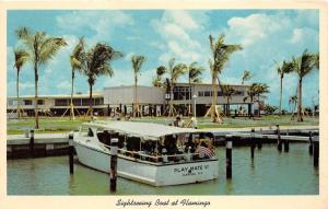 Flamingo Florida~Sightseeing Boat Play Mate VI @ Everglades National Park~1958