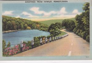 Pennsylvania Greetings From Hawley