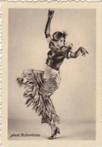 GARBATI CIGARETTE CARD FAMOUS DANCERS NO 116 NIDDY IMPEKOVEN