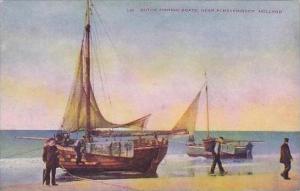 Netherlands Scheveningen Dutch Fishing Boats