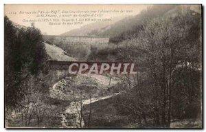 Saint Etienne - Dam No Riot has chasm 2200m d & # 39Enfer - Old Postcard