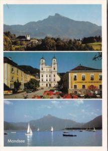 Austria Mondsee mit Schafberg Multi View