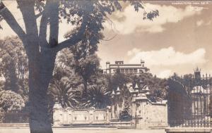 RP: MEXICO, D. F., 1941; Perimeter Walls & Gate, Chapultepec Castle
