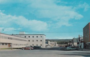 WHITEHORSE, Yukons Territory, Canada, 1950-60s; Main Street, Capitol of the Y...