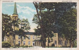 First Presbyterian Church , FAYETTEVILLE , North Carolina , 00-10s